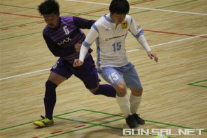 【2018/01/07】群馬県フットサルリーグ1部の試合結果