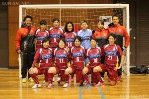 【2015/11/01】群馬県フットサルリーグ女子試合結果